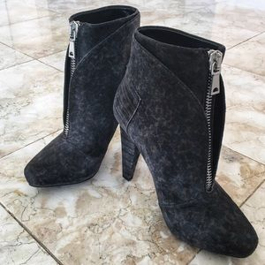 78b5e0cadbe8 🎈SALE🎈Proenza Schouler Gray Suede Ankle Booties